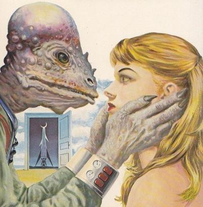 reptilian love