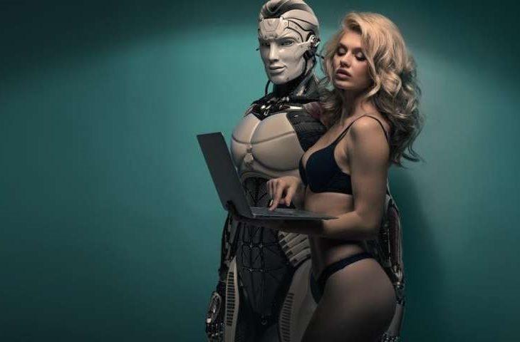 adam e il cyber sesso
