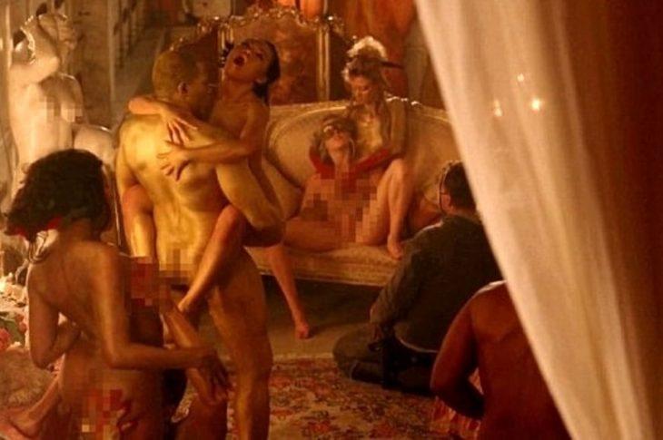la prima orgia di Nina